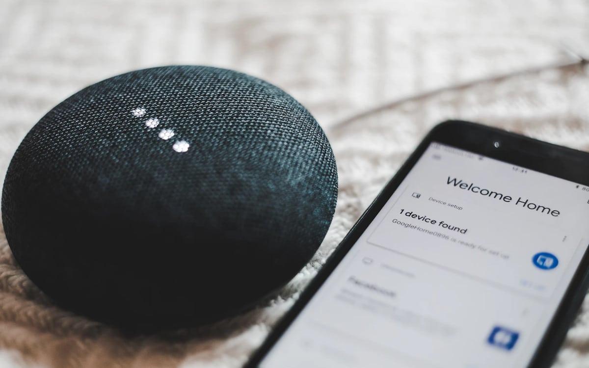google home prise connectee
